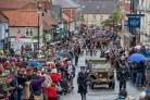 Visitors head to Pickering for this year's Railway in Wartime event, which attracted thousands of people Picture: Charlotte Graham