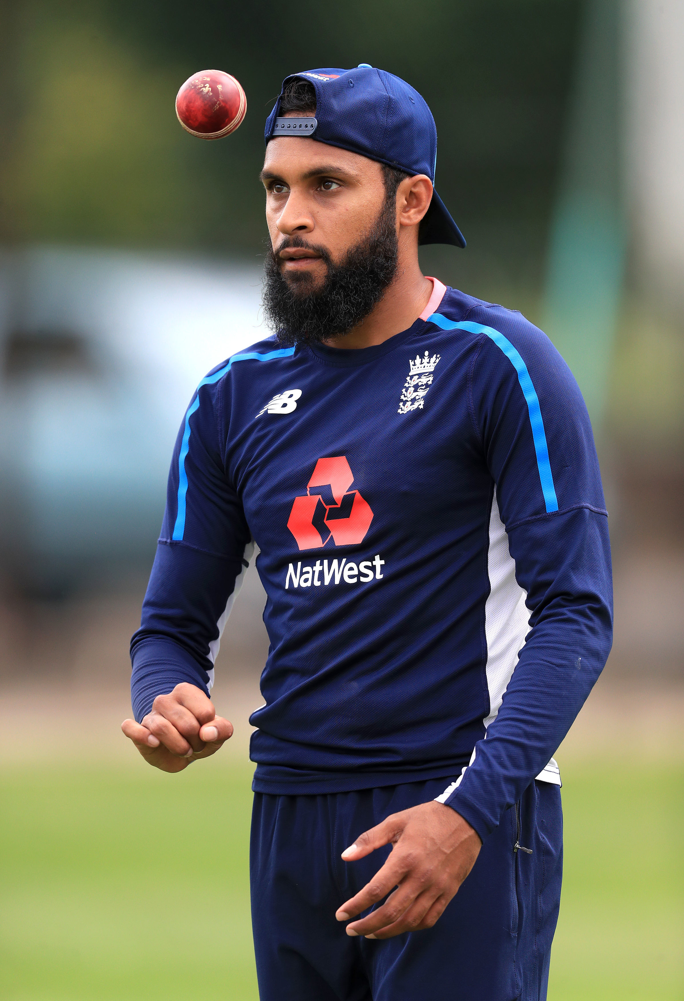 File photo dated 30-07-2018 of England's Adil Rashid. PRESS ASSOCIATION Photo. Issue date: Thursday October 25, 2018. Adil Rashid is happy he decided to recommit to red ball cricket but believes English cricket will have to get used to the idea of Twe