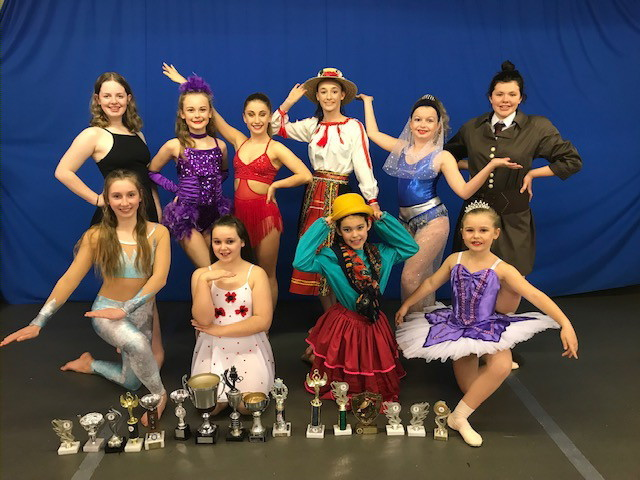 Trophy winners from Kirkham Henry Performing Arts Centre in Malton