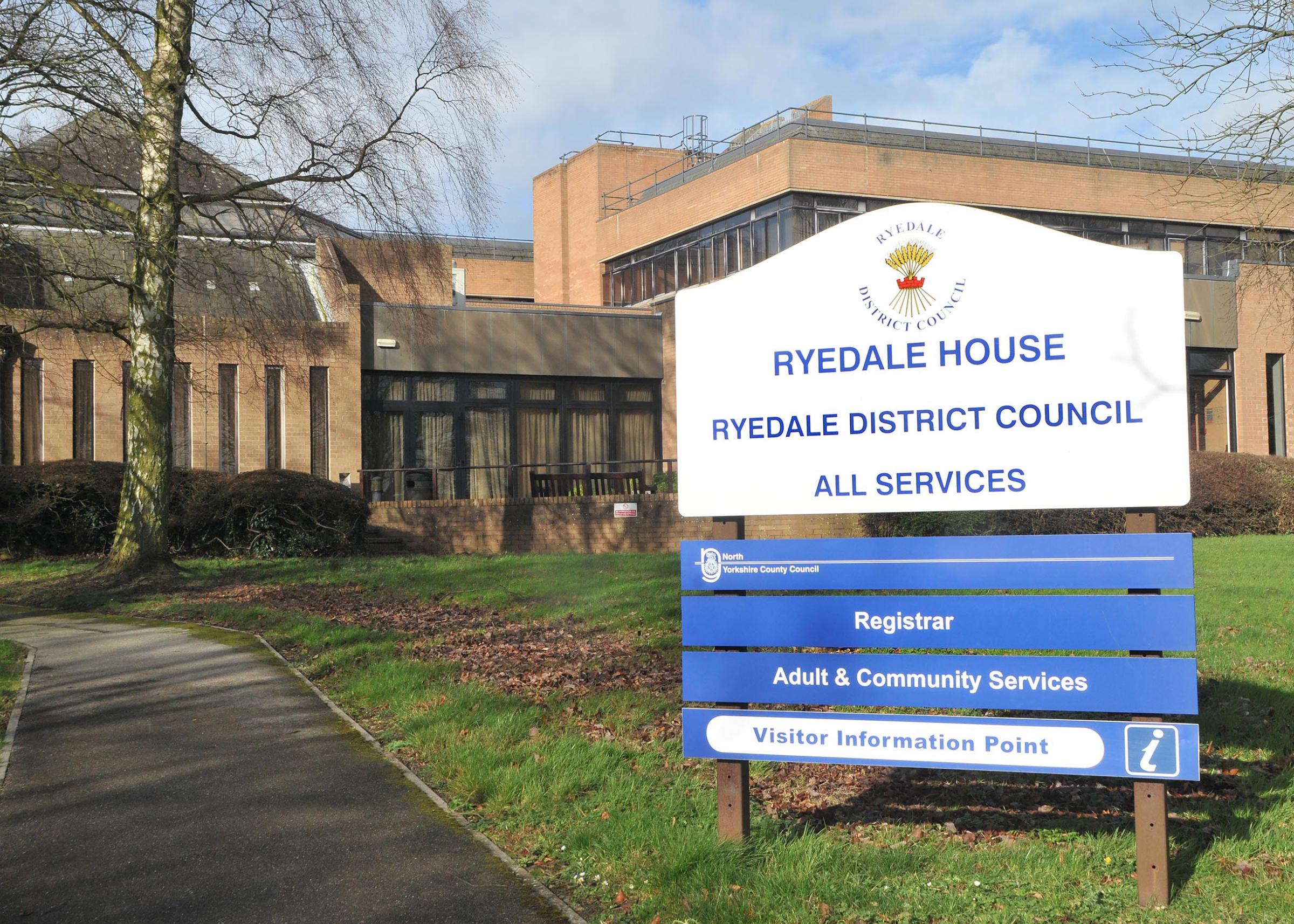 Ryedale House, current home of Ryedale District Council, in Old Malton.