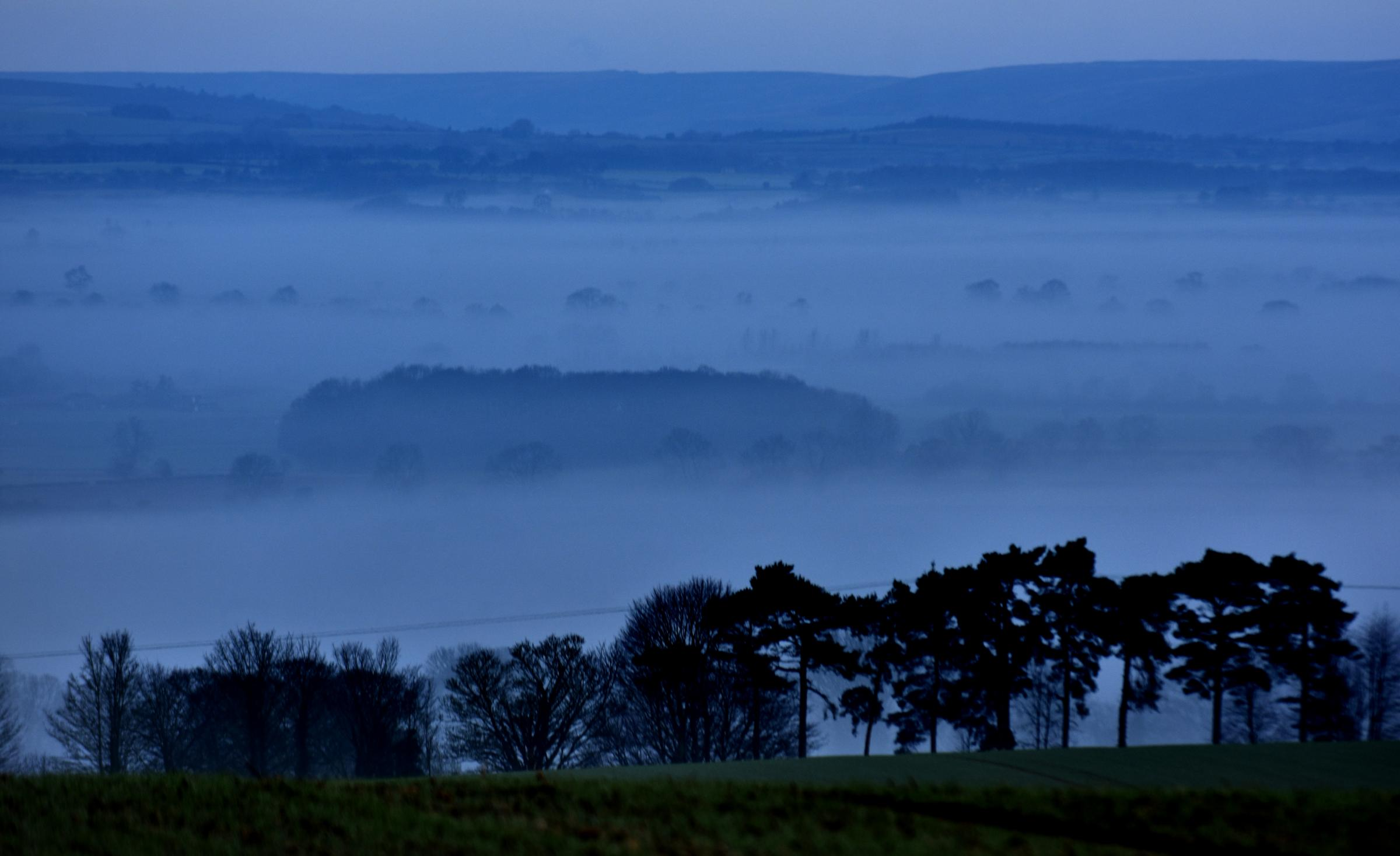 A foggy Nunnington by Frank Dwyer