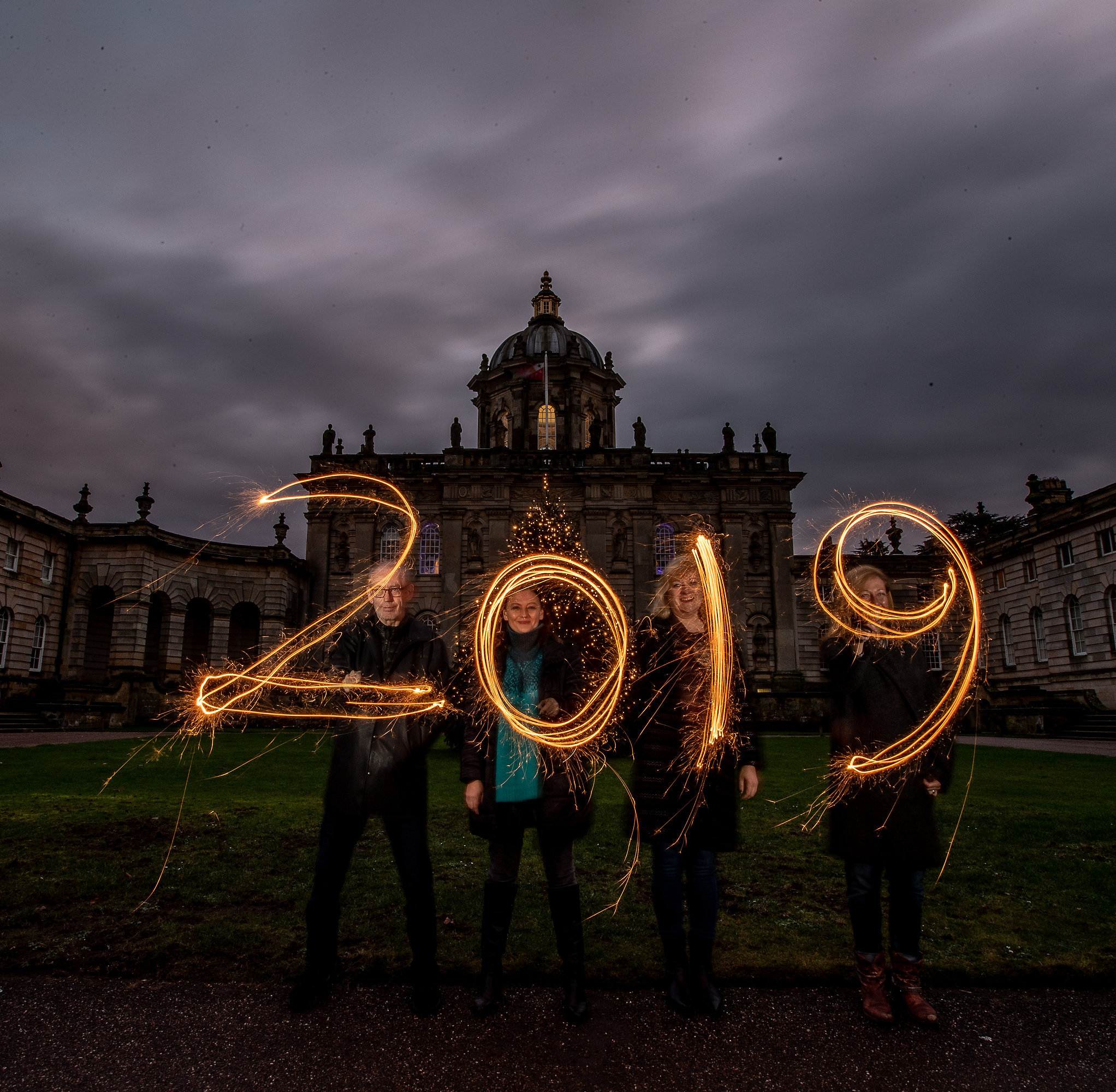 New Year 2019 at Castle Howard. Picture: Charlotte Graham