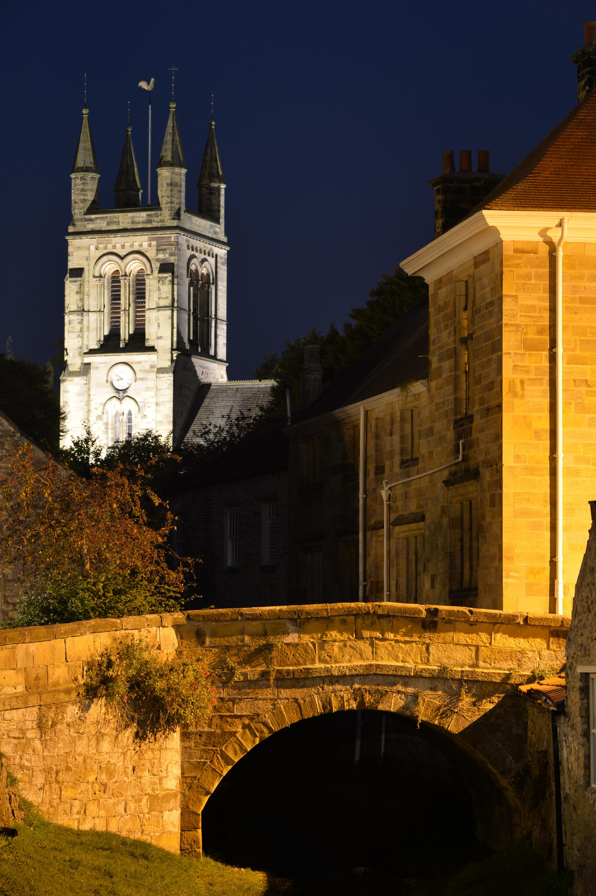 Helmsley at night by Tony Bistro