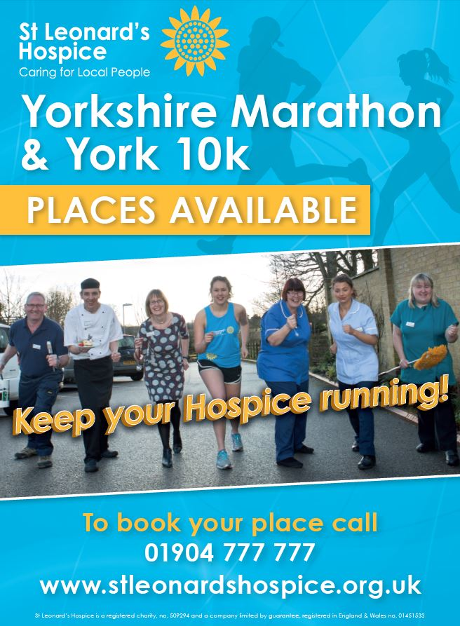 York 10K for St Leonard's