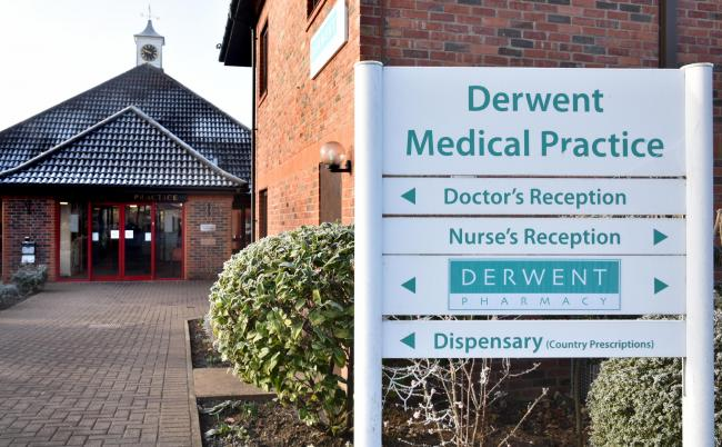 Derwent Medical Practice in Norton    Picture: Frank Dwyer