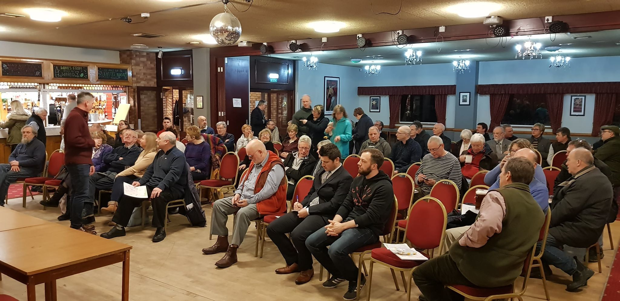 Over 150 people attended a meeting, which was organised by members of the Norton and Malton Local Traffic Congestion, in a bid to voice their frustration at changes to the Church Street junction