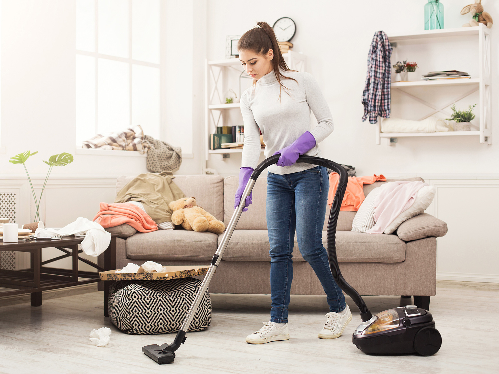 You won't catch Helen Mead spring cleaning