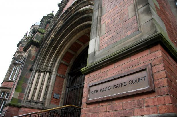 CASE: Merryweather was up before the bench at York Magistrates Court