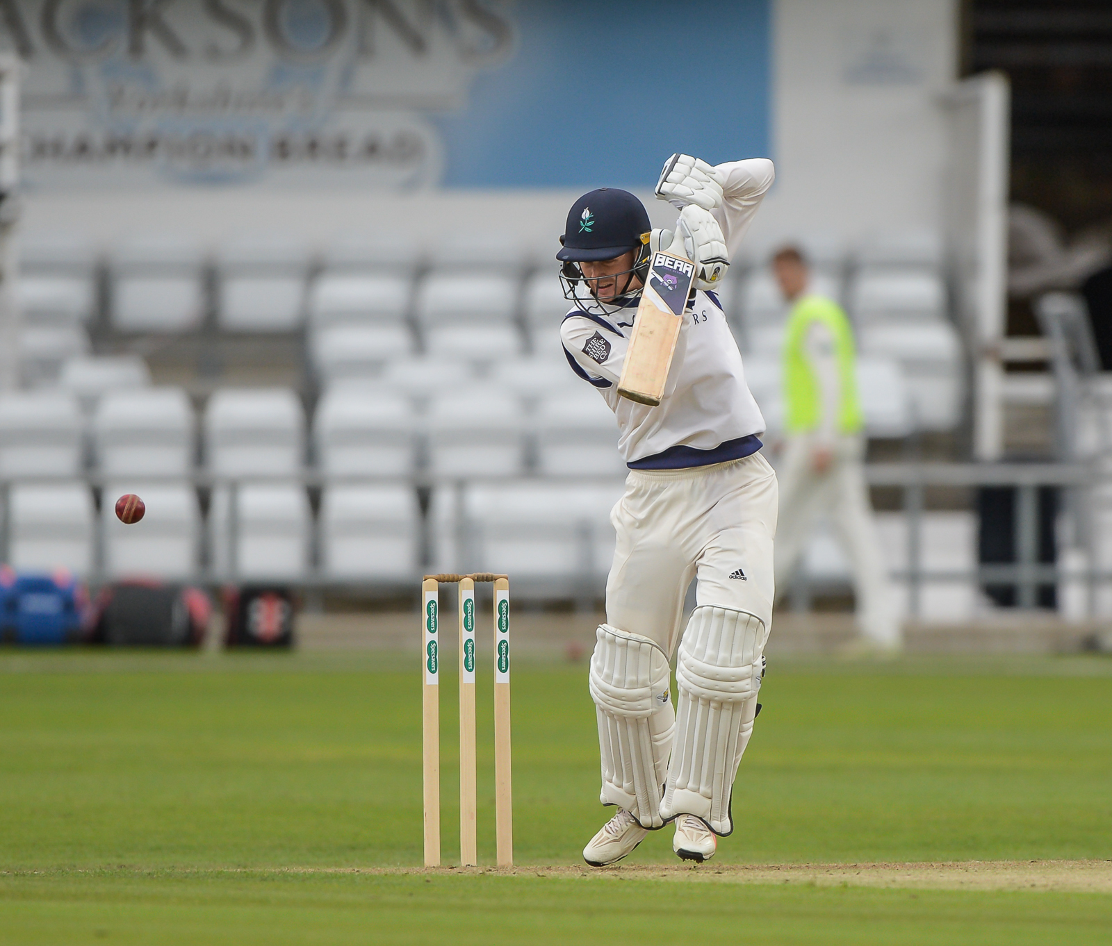 Jonny Tattersall scored just nine in Yorkshire's first innings at Trent Bridge. Picture: Ray Spencer
