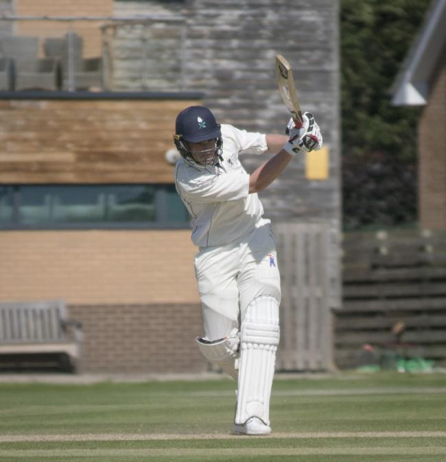 Yorkshire's Matthew Waite in action for York CC.