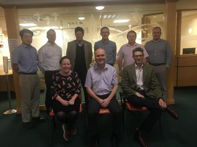The doctors at Derwent Practice in Norton. Back row, from left, Dr Yang Bong Lee, Dr Christopher Ives, Dr Chris Jones, Dr Toby Wallace, Dr Julian Wadsworth and Dr Andrew Harper; Front row - Dr Claire Forrester, Dr David Longworth and Dr Marcus Hatch
