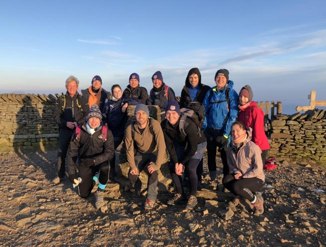 Volunteers and friends from Sheriff Hutton Bridge Cricket Club in Strensall took on the infamous Yorkshire Three Peaks to raise money for York Against Cancer and the club