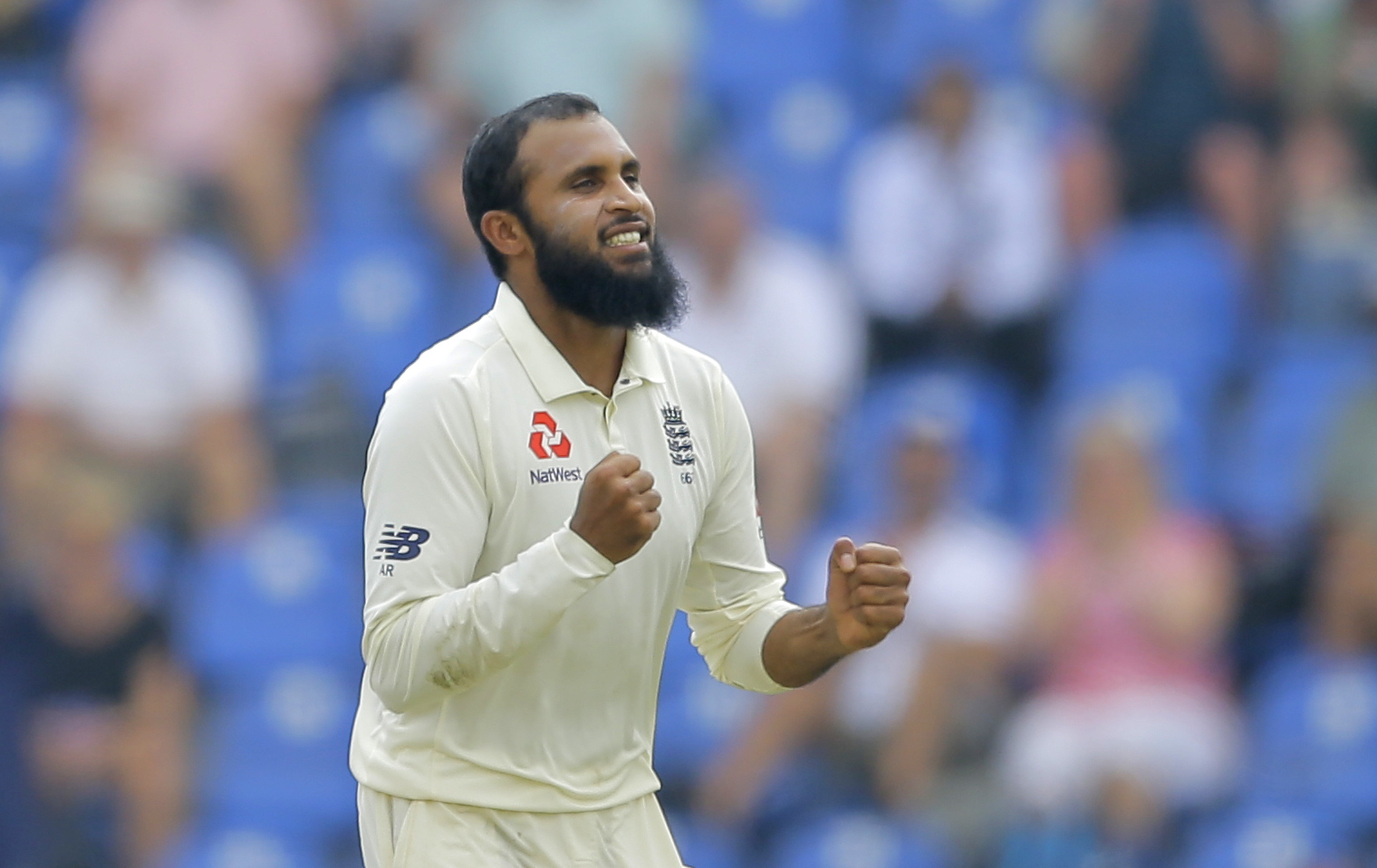 Adil Rashid is available for Yorkshire's first three RL50 games before joining up with England    Picture: AP Photo/Eranga Jayawardena