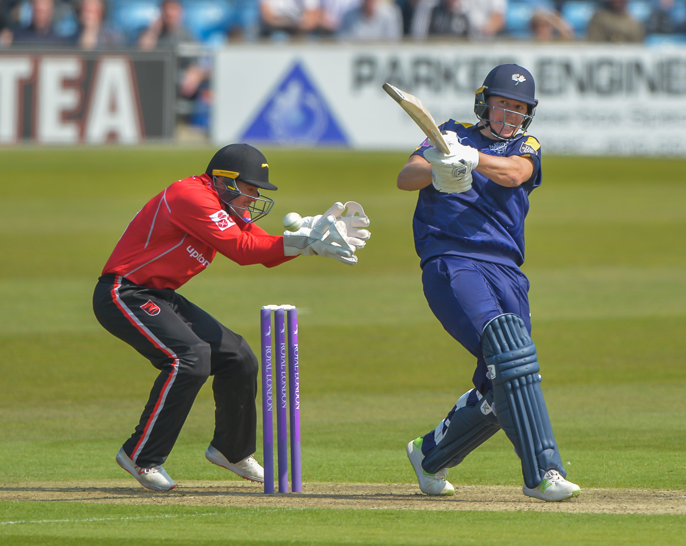 Gary Ballance fired 156 off 166 balls as Yorkshire romped to victory over Leicestershire at Headingley in the Royal London Cup. Picture: Ray Spencer