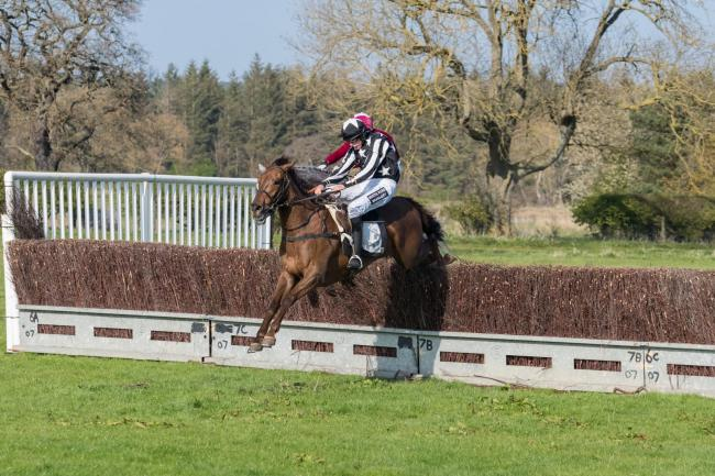 John Dawson riding Eden Collenge to victory at last weekend's meeting at Witton Castle