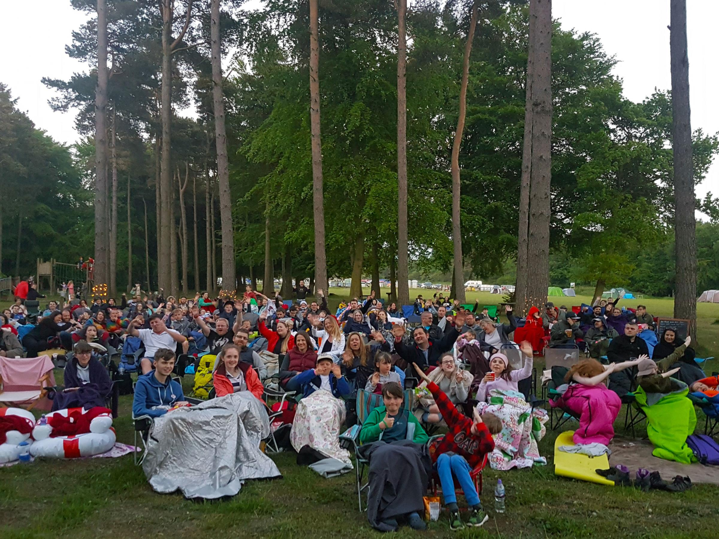 Cinema goers can enjoy some of the latest films and all time classics in Dalby Forest this summer