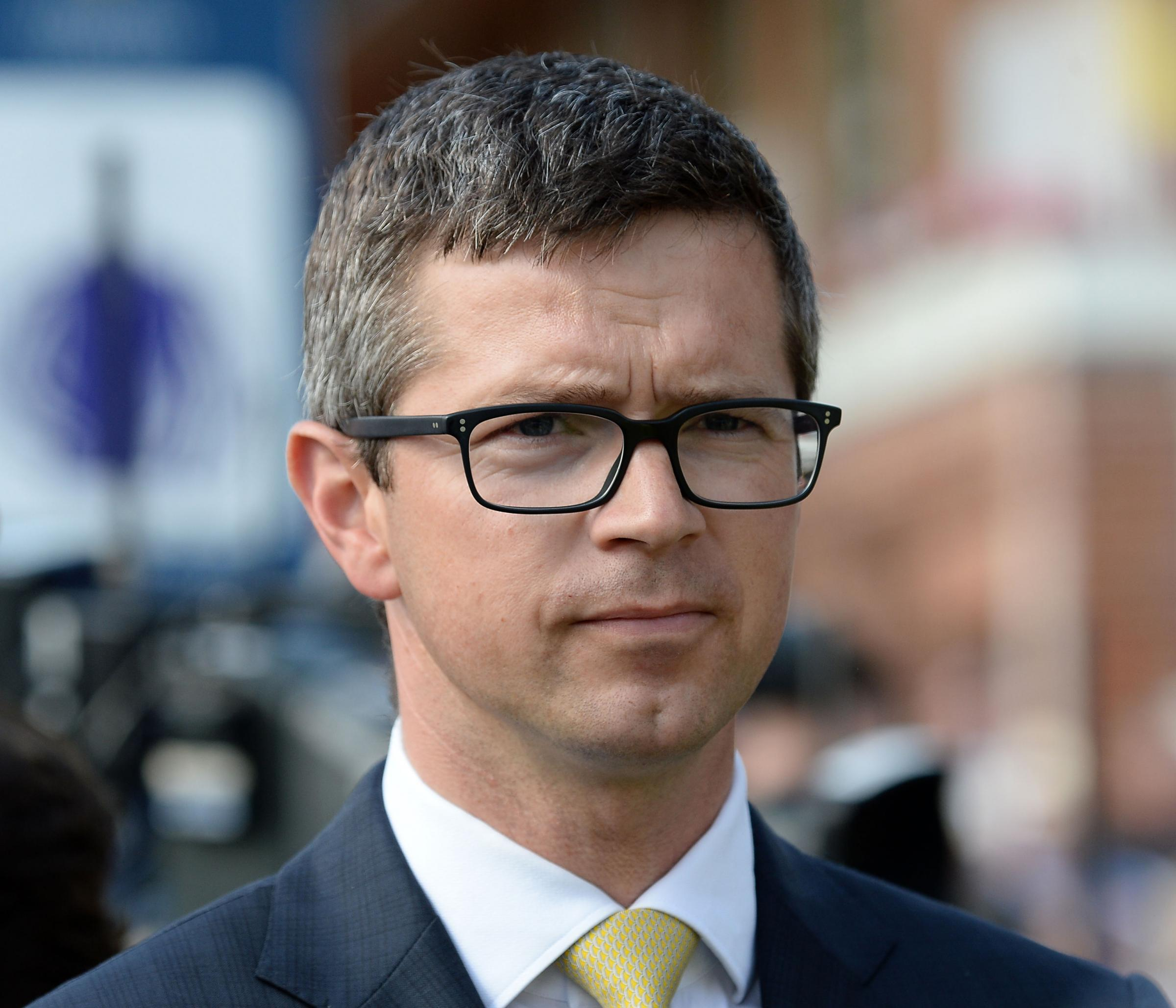 Trainer Roger Varian, who is hoping for a romantic results at the Dante Stakes festival with his promising entry, Surfman. Picture: Anna Gowthorpe/PA Wire