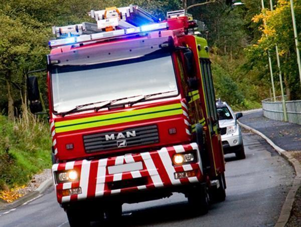 Arsonists blamed for fire in stubble field