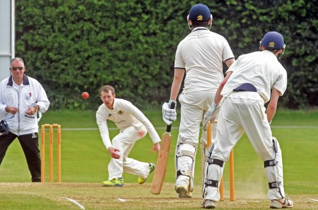 Acomb's Joe Dale was impressive with bat and ball. Picture: Nigel Holland