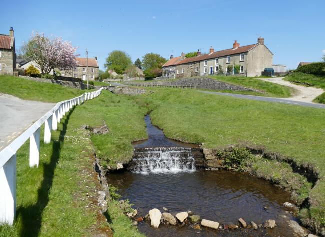 Hutton-le-Hole in the sunshine by Nick Fletcher