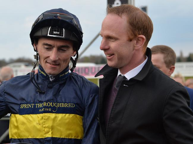 In-form Danny Tudhope, left, is stable jockey for trainer David O'Meara, right. Picture: Anna Gowthorpe/PA Wire